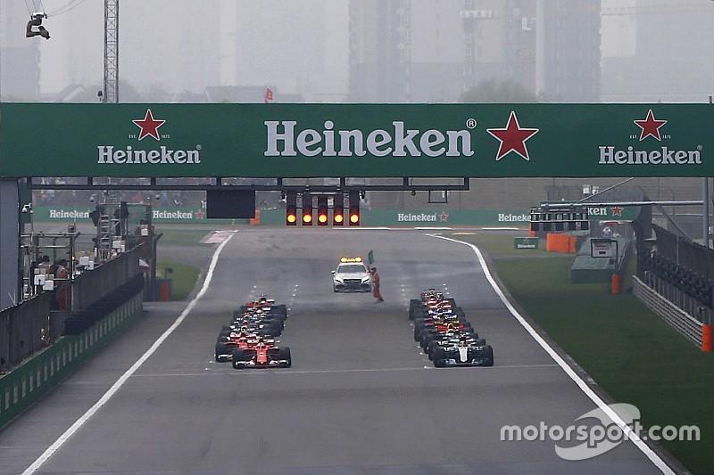 La FIA avertit les pilotes quant à leur position sur la grille