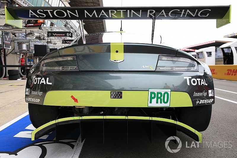 Aston Martin mantém 'Vantage' em novo carro para GTE