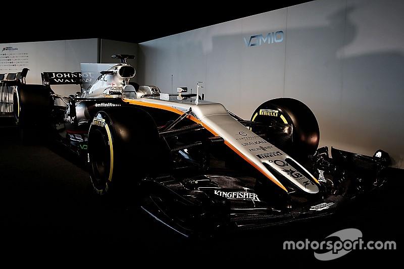 """【F1】フォースインディア、VJM10の""""不運な""""ノーズデザインを解説"""