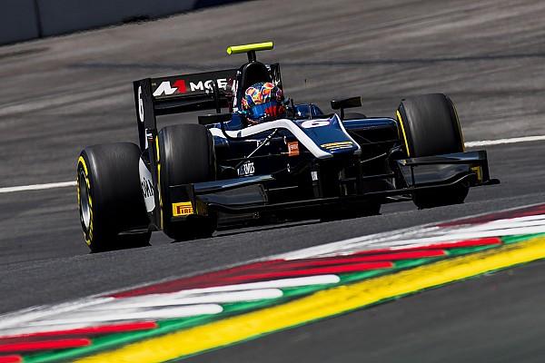 Маркелов выиграл вторую гонку Формулы 2 в сезоне