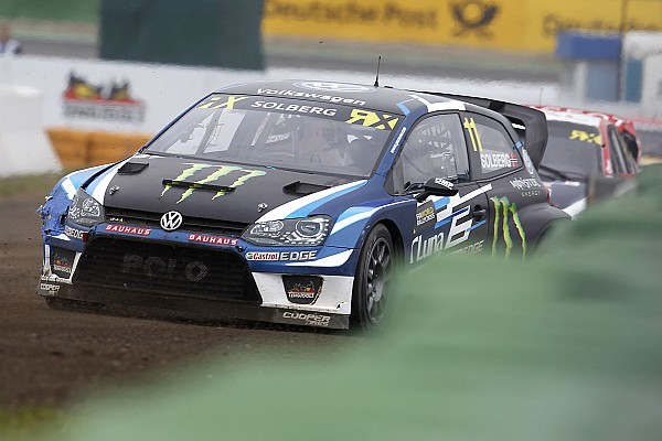 World Rallycross Full extent of Solberg injuries revealed after Latvia crash