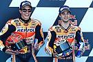 【MotoGP】マルケス「タイム更新のためにペドロサの後ろについた」