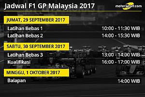 Formula 1 Preview Jadwal lengkap F1 GP Malaysia 2017