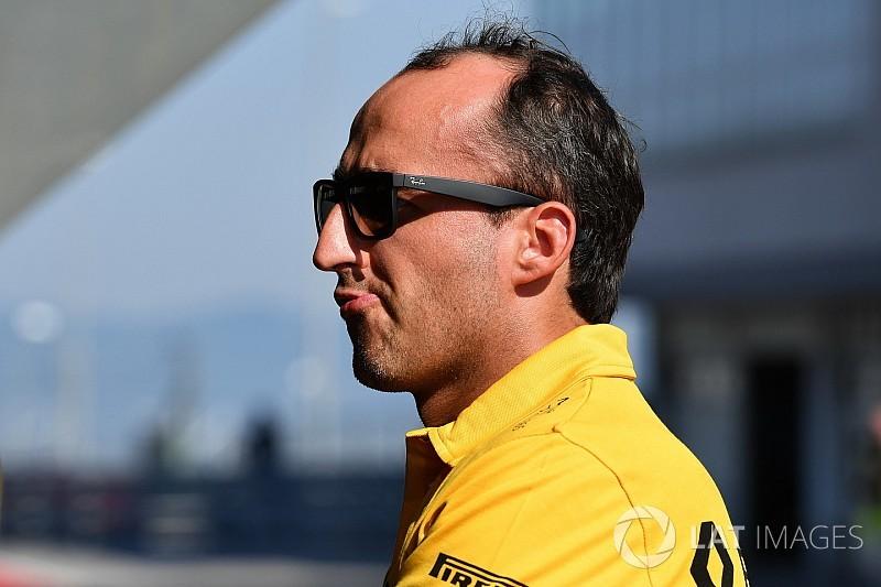 Renault diz ainda ter dúvidas sobre retorno de Kubica à F1