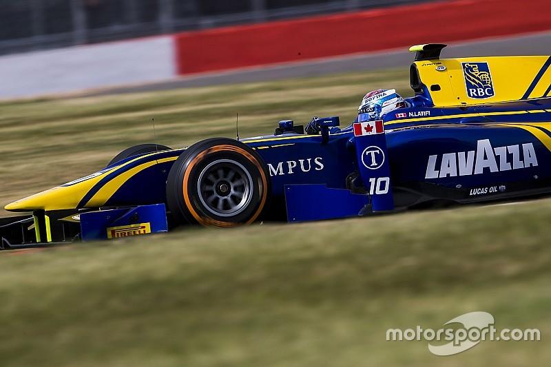 Silverstone F2: Latifi ilk galibiyetine ulaştı