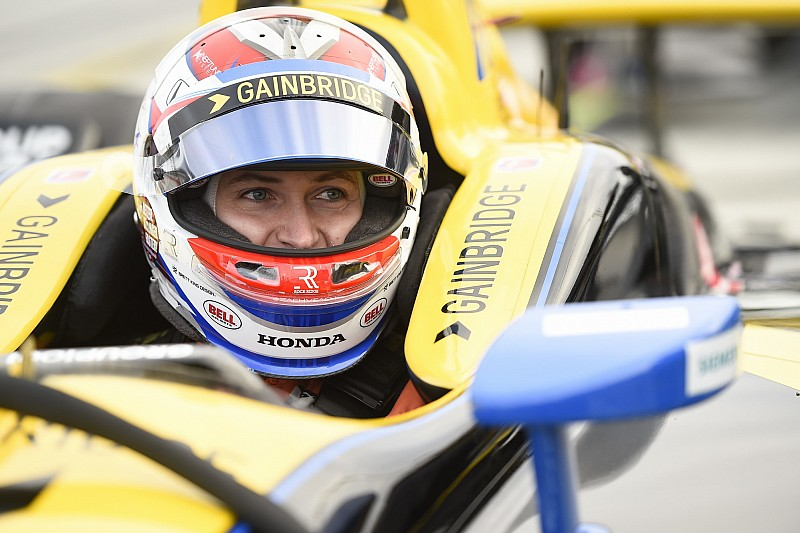 """Veach """"100 percent confident"""" he's ready to win oval IndyCar race"""