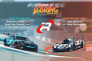Kijk terug: 12 Hours of Sebring met Verstappen en Kerkhof