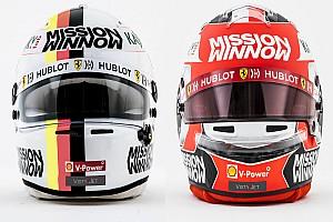 GALERI: Helm para pembalap F1 2019