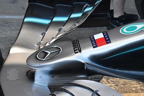 Mercedes: livrea argento per la monoposto a effetto suolo 2022