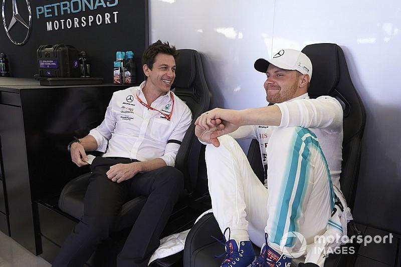 Wolff: Bottas újra felfedezte a vezetés élvezetét