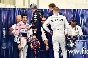 Verstappen: Ocon'u ittiğim için pişman değilim hatta sakin bile davrandım