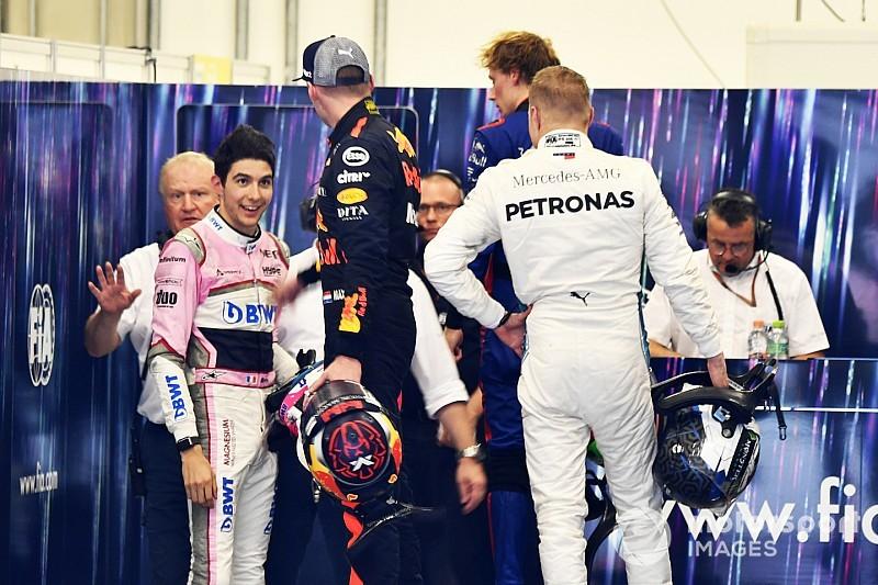 Verstappen si difende: ha spintonato Ocon per le sue risposte provocatorie