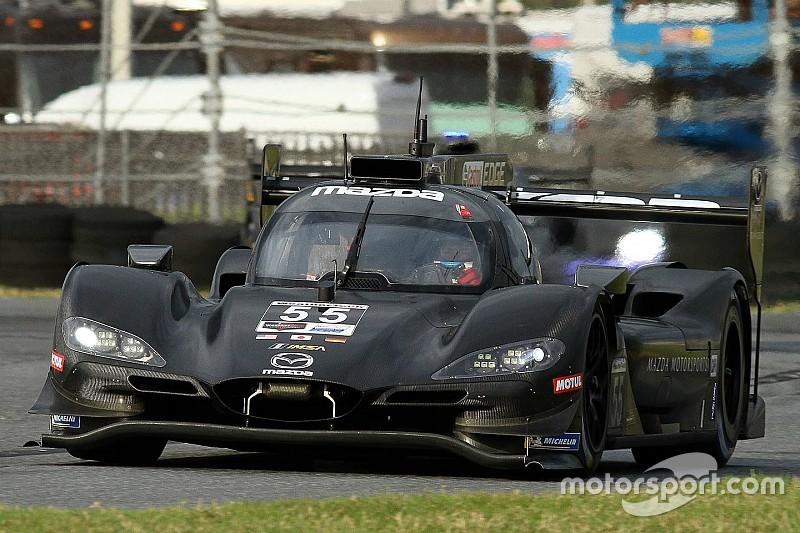 Tincknell mantuvo a Mazda arriba en la primera práctica del sábado en Daytona