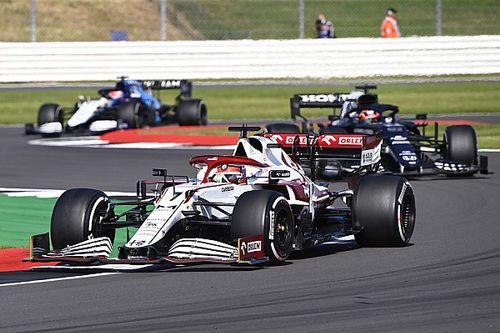 Raikkonen pide al equipo Alfa despertar en la temporada 2021 de F1