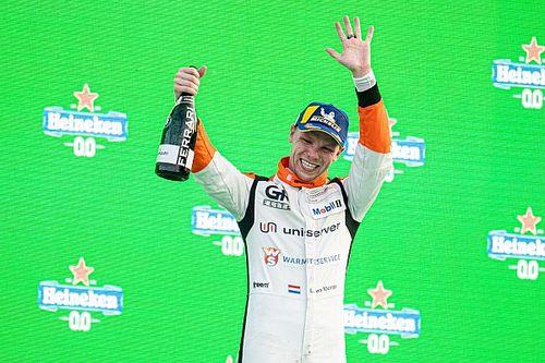 Larry ten Voorde prolongeert titel in Porsche Supercup