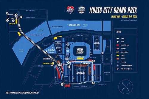 IndyCar in 2021 naar Nashville voor race op stratencircuit