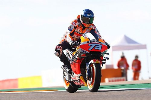 EL1 - Álex Márquez signe le meilleur temps puis chute
