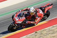 Ducati se cae con todo el equipo en el arranque de Teruel