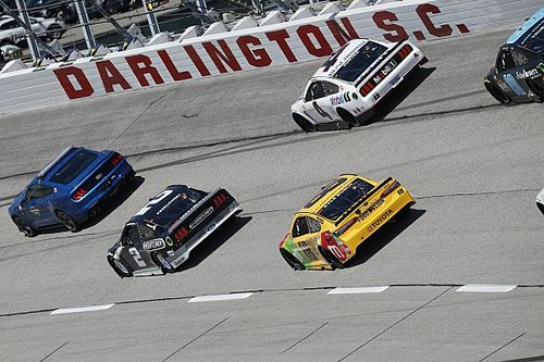 What time and channel is the NASCAR race at Darlington