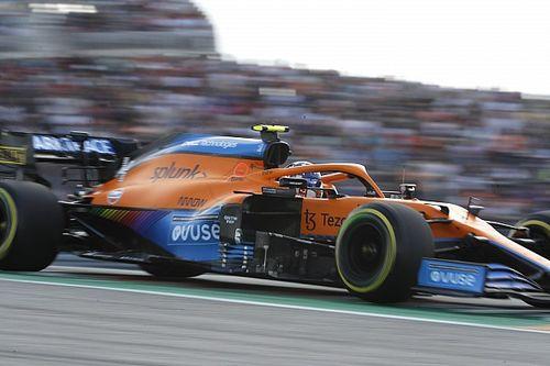 """Norris: """"La Ferrari è palesemente più veloce di noi"""""""