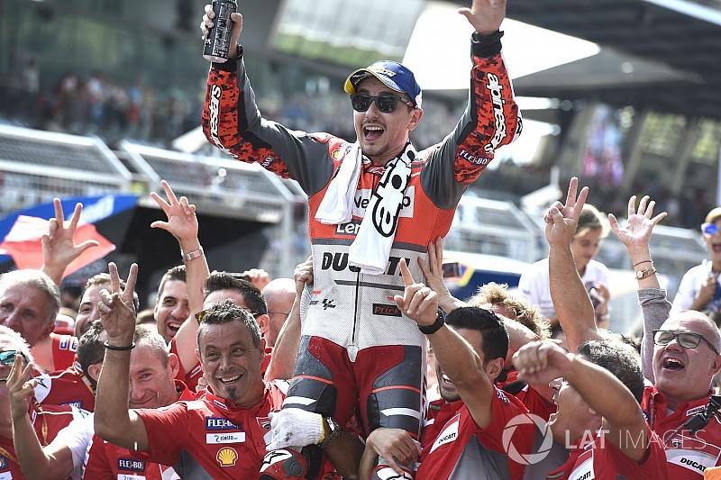 MOTO GP GRAND PRIX D'AUTRICHE 2018 Jorge-lorenzo-ducati-team-1
