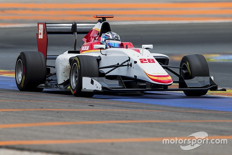 Siebert disputará la primera ronda de GP3