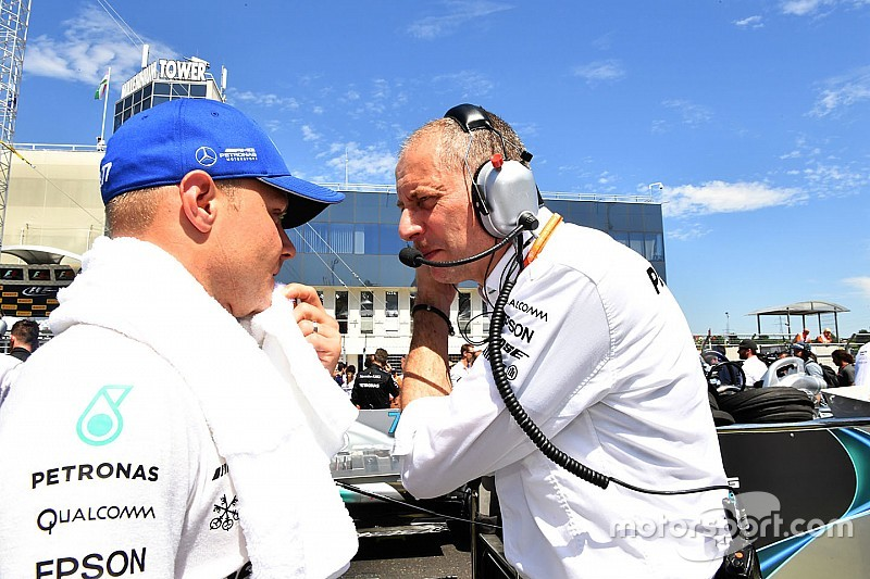 Bottas' F1 race engineer to switch to Mercedes FE role
