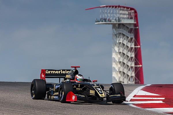Formula V8 3.5 Reporte de la carrera René Binder se lleva la victoria de la primera carrera de Austin