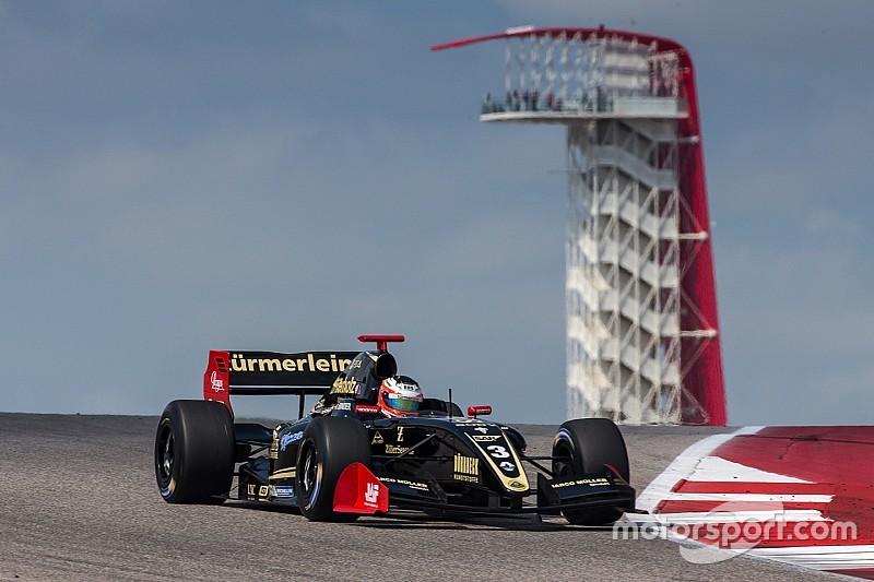 Austin F3.5: Binder scoresdominant lights-to-flag victory