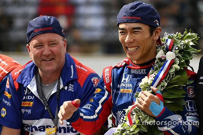 Garrett Mothersead (sinistra) e Takuma Sato. motorsport.com