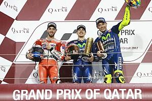 MotoGP Репортаж з гонки Гран Прі Катару: перемогу виборов Віньялес