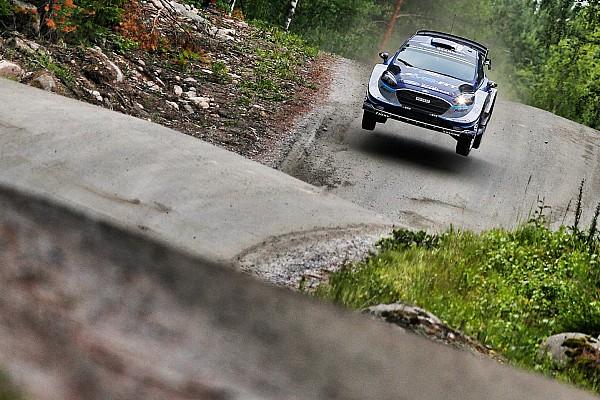 Finlandiya WRC: Tanak ralliye lider başladı