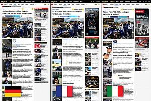 General Motorsport.com hírek A Motorsport.com elindította háromnyelvű svájci kiadását