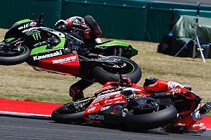 WSBK Reporte de la carrera Sykes gana en Misano por eliminación; escalofriante caída de Davies
