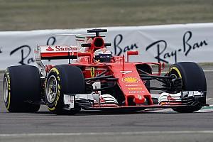 Formel 1 News Erste Bilder: Kimi Räikkönen bei der Jungfernfahrt des Ferrari SF70H