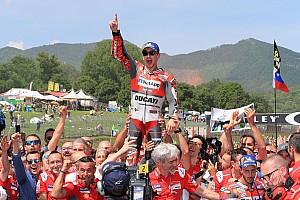 Lorenzo, à la fois heureux et triste de sa 1re victoire avec Ducati