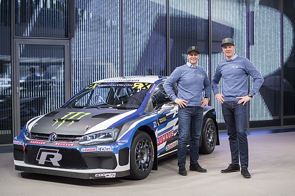 Solberg'in Volkswagen destekli yeni Polo RX aracı tanıtıldı