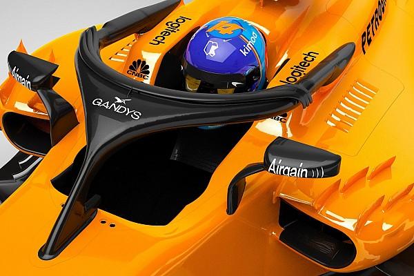 Formule 1 Actualités McLaren fait sponsoriser son Halo par une marque de tongs !