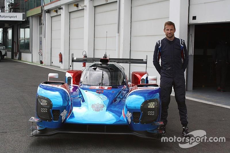 Magny-Cours-Test im LMP1: Button ist