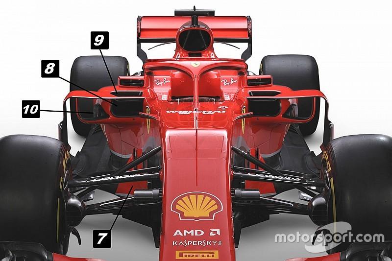 Formel-1-Technik: Mit diesen Tricks will Ferrari den Titel holen