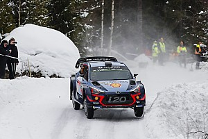 WRC Rapport d'étape ES5 à 8 - Un triplé Hyundai en fin de première étape