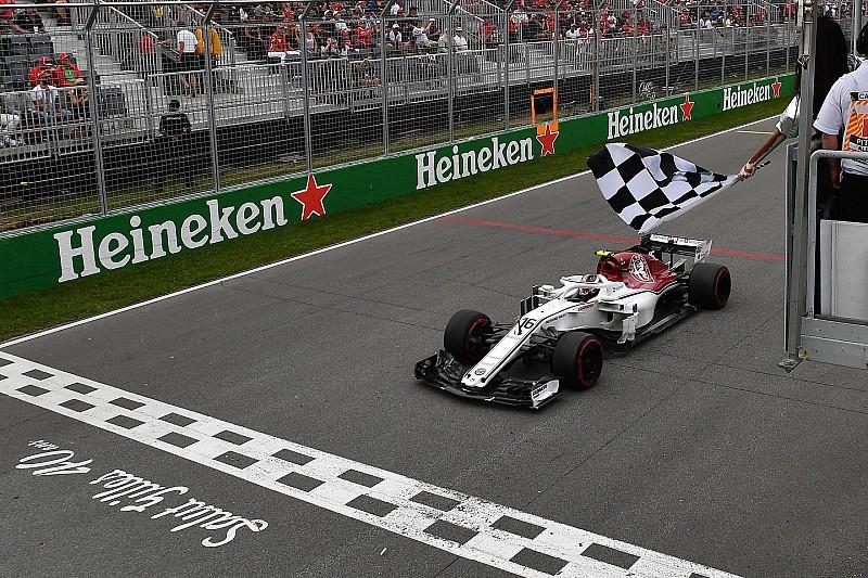 Fotogallery: l'Alfa Romeo Sauber nel Gran Premio del Canada