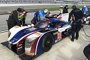 IMSA Breaking news Alonso turns first laps of Daytona in Roar test