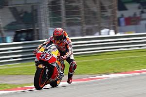 """MotoGP Noticias Márquez: """"Todo salió mal, por eso salgo el séptimo"""""""