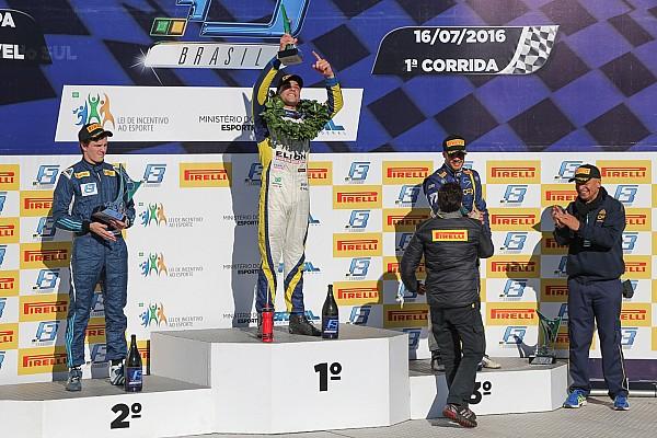 Matheus Iorio domina sábado na Fórmula 3 em Cascavel