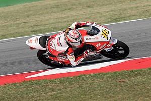Moto3 レースレポート 尾野「まだまだタイムを詰められる。明日は上位を狙う」:Moto3日本GP初日