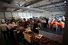 Il pranzo dei piloti della Carrera Cup Italia