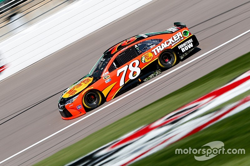 Toyota leads the charge in Kansas final practice
