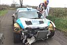 Ecco come è ridotta la Citroën DS3 R5 di Consani