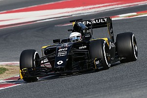 Formula 1 Testing report Magnussen set the day's fourth fastest time